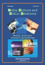 Media, culture and public relations,Vol. 7 No. 2
