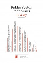 Public Sector Economics,Vol. 41 No. 1