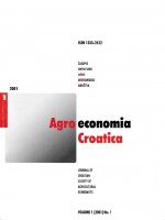 Agroeconomia Croatica,Vol.1 No.1