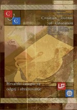 Croatian Journal of Education : Hrvatski časopis za odgoj i obrazovanje,Vol. 19 No. 1