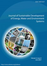 Journal of Sustainable Development of Energy, Water and Environment Systems,Vol.5 No.2