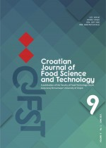 Croatian journal of food science and technology,Vol. 9 No. 1