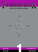 FLUMINENSIA : Journal for philological research,Vol. 29 No. 1