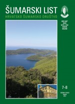 Journal of the Forestry Society of Croatia = Zeitschrift des Kroatischen Forstvereins = Revue de la Societe forestiere Croate,Vol. 141 No. 7-8