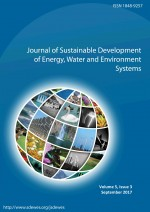 Journal of Sustainable Development of Energy, Water and Environment Systems,Vol.5 No.3