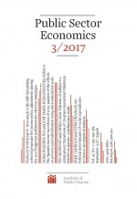 Public Sector Economics,Vol. 41 No. 3