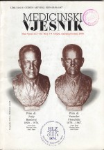 Medicinski vjesnik,Vol. 32 No. (1-4)