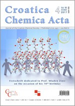 Croatica Chemica Acta,Vol.90 No.4