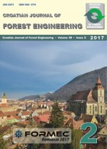 Croatian Journal of Forest Engineering : Journal for Theory and Application of Forestry Engineering,Vol. 38 No. 2