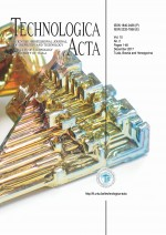 Technologica Acta : Scientific/professional journal of chemistry and technology,Vol. 10 No. 2