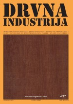 Drvna industrija : Scientific journal of wood technology,Vol. 68 No. 4