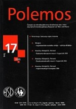 Polemos : Journal of Interdisciplinary Research on War and Peace,Vol. IX No. 17