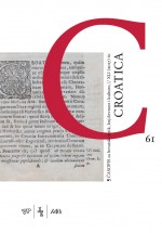 Croatica : Journal of Croatian Language, Literature and Culture Studies,Vol. 41 No. 61