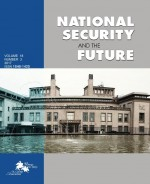 National security and the future,Vol. 18 No. 3