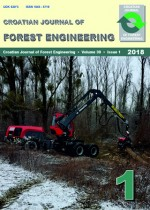 Croatian Journal of Forest Engineering : Journal for Theory and Application of Forestry Engineering,Vol.39 No.1