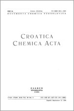 Croatica Chemica Acta,Vol. 57 No. 3