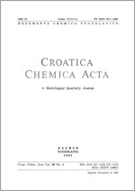 Croatica Chemica Acta,Vol. 56 No. 4