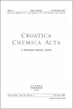 Croatica Chemica Acta,Vol. 56 No. 2
