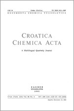 Croatica Chemica Acta,Vol. 55 No. 4