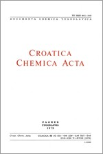 Croatica Chemica Acta,Vol. 52 No. 4
