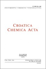 Croatica Chemica Acta,Vol. 52 No. 1