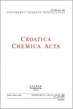 Croatica Chemica Acta,Vol. 51 No. 1