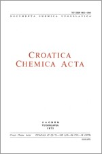 Croatica Chemica Acta,Vol. 47 No. 2