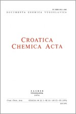 Croatica Chemica Acta,Vol. 46 No. 1