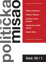Croatian Political Science Review,Vol. 55 No. 1