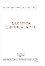 Croatica Chemica Acta,Vol. 45 No. 3