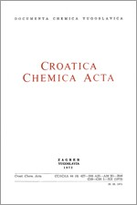 Croatica Chemica Acta,Vol. 44 No. 4