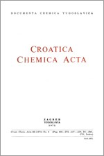 Croatica Chemica Acta,Vol. 43 No. 4