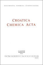 Croatica Chemica Acta,Vol. 43 No. 2