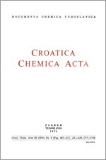 Croatica Chemica Acta,Vol. 42 No. 3