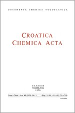 Croatica Chemica Acta,Vol. 42 No. 1