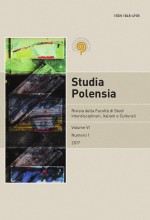 Studia Polensia,Vol. 6 No. 1