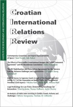 Croatian International Relations Review,Vol. 24 No. 81