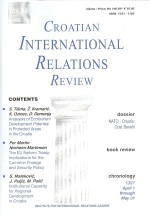 Croatian International Relations Review,Vol.12 No.44/45
