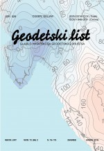 Geodetski list,Vol.72 (95) No.2