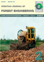 Croatian Journal of Forest Engineering : Journal for Theory and Application of Forestry Engineering,Vol. 28 No. 2