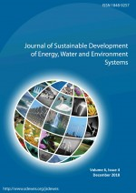 Journal of Sustainable Development of Energy, Water and Environment Systems,Vol. 6 No. 4