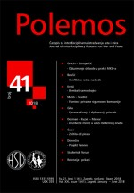 Polemos : Journal of Interdisciplinary Research on War and Peace,Vol. XXI No. 41