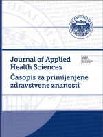 Journal of Applied Health Sciences = Časopis za primijenjene zdravstvene znanosti,Vol. 4 No. 2