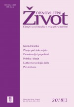 Obnovljeni život : Journal of Philosophy and Religious Studies,Vol. 73. No. 3.