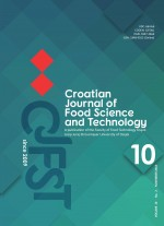 Croatian journal of food science and technology,Vol. 10 No. 2