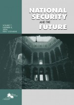 National security and the future,Vol. 7. No. 4.