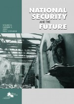 National security and the future,Vol. 8. No. 3.