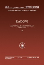 Papers of the Institute for Scientific Research Work in Varaždin,No. 29