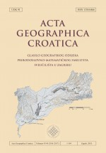 Acta Geographica Croatica,Vol. 43./44. No. 1