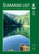 Šumarski list,Vol. 143 No. 1-2